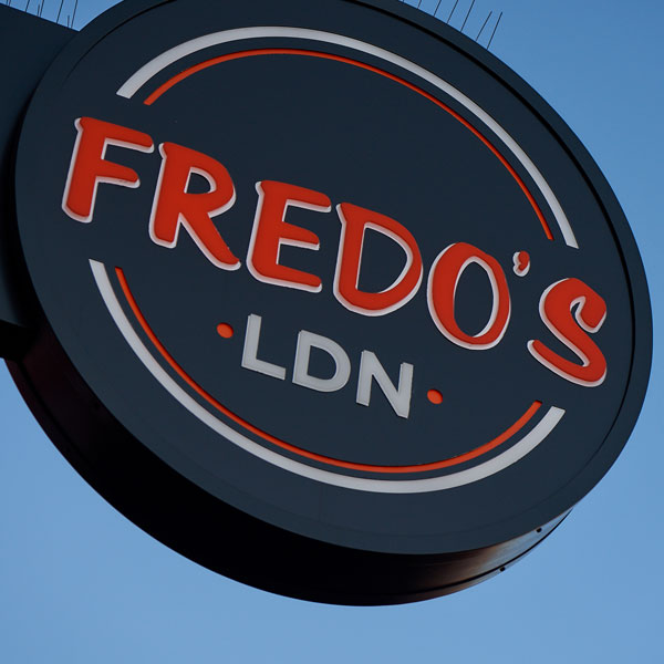 fredos ldn About Us circle logo